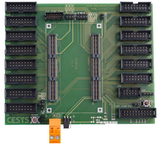 Cesys efm02 breakout board