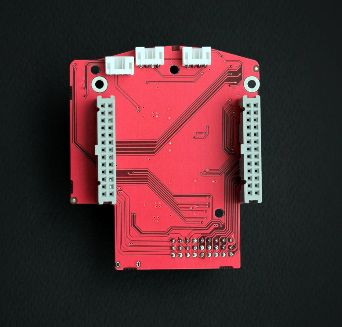 RedPitaya Extension Module Bottom